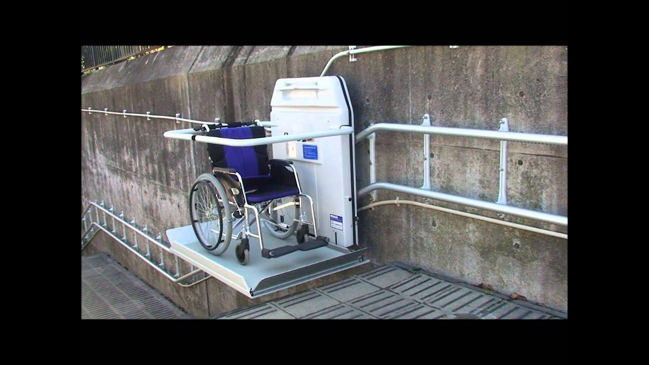 車いす用階段昇降機 EA6