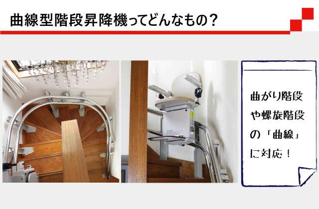 曲線型階段昇降機ってどんなもの?