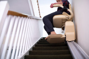 階段昇降機の危険